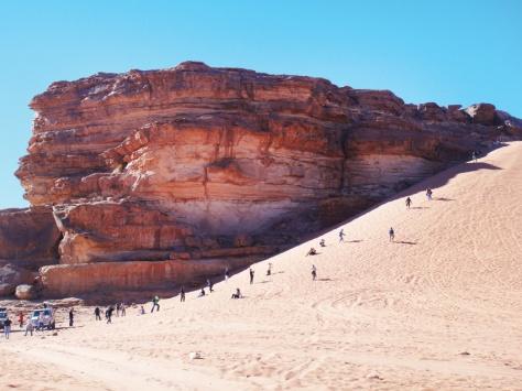 wadi rum sand dunes 2