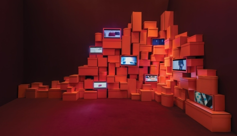 2. An orange box for every object