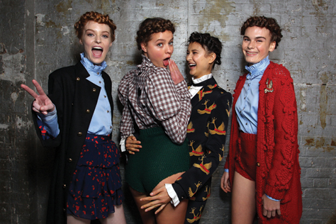MacGraw - Backstage - Mercedes-Benz Fashion Week Australia 2017