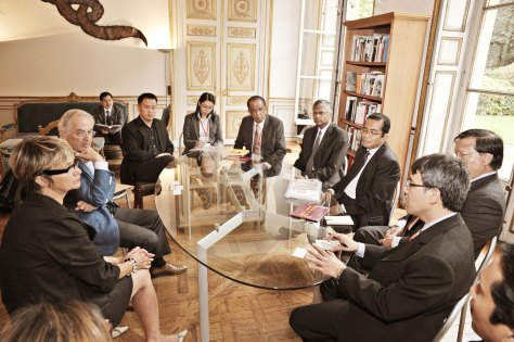 CHT was involved in the Malaysian-French Delegates discussions on arts and culture exchange programmes at Ecole Nationale Superieure des Beaux-Arts (ENSBA) in Paris, 2009.jpg