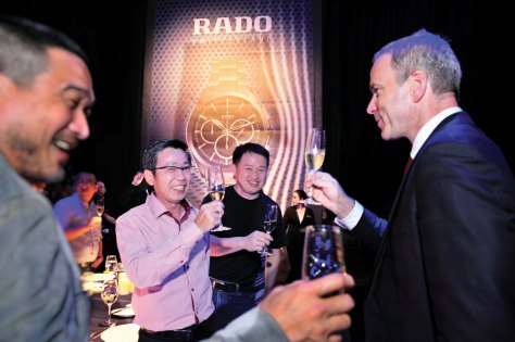 CHTNetwork was invited to cover the launch of Rado HyperChrome collection in Shanghai, China 2012.jpg