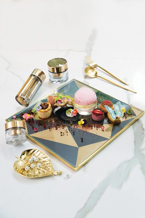 Gradini X Estée Lauder Black Truffle Diamond Afternoon Tea(For one) (1)